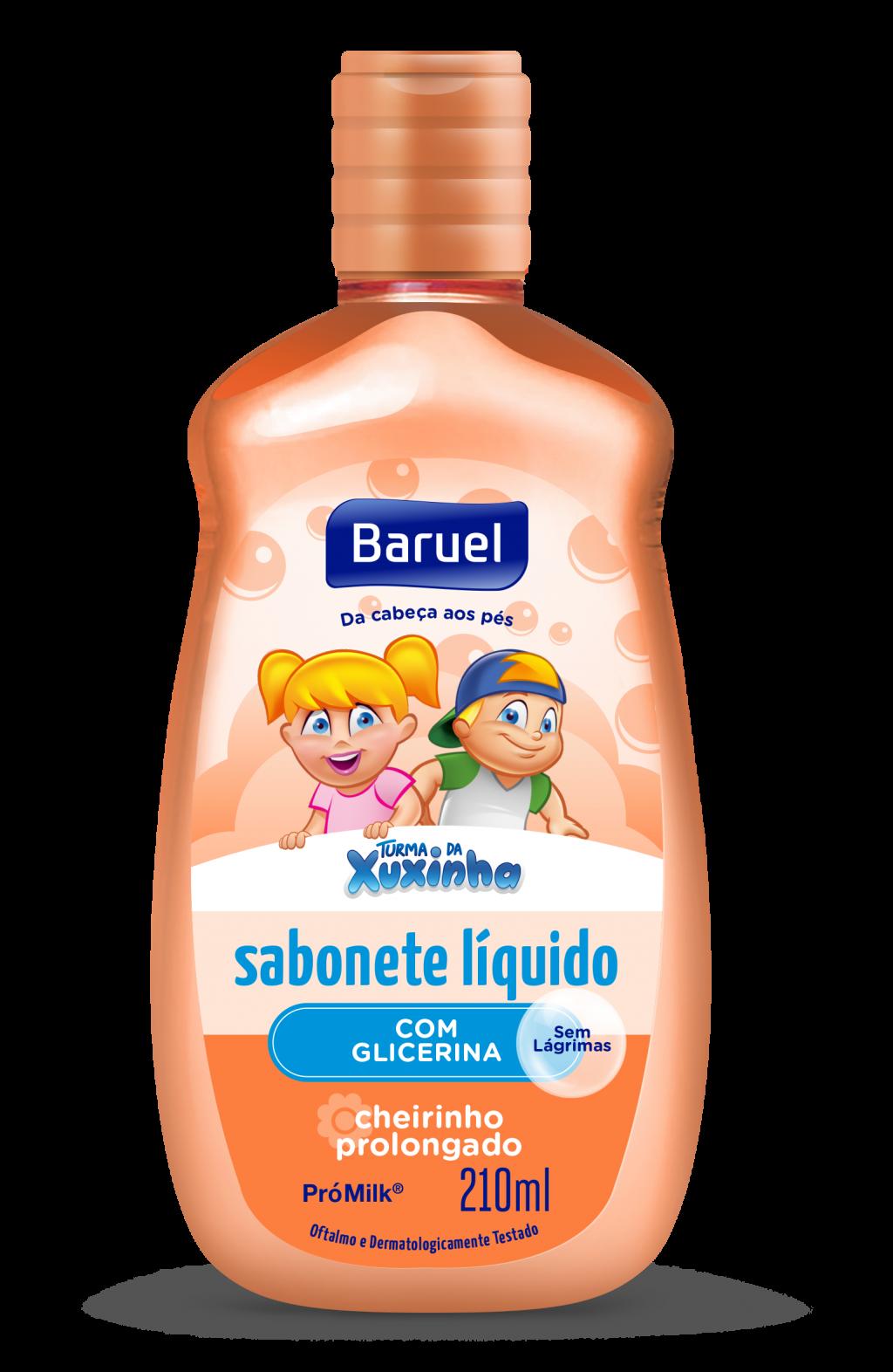 SABONETE LÍQUIDO COM GLICERINA