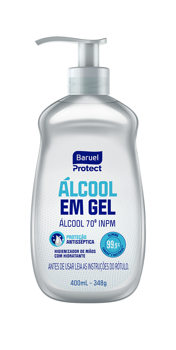 Protect Alcool em Gel 400ml pump